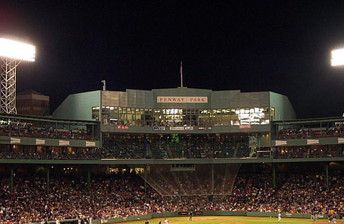 boston red sox baseball world champions 2004 2007 fenway park